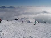 雲の上の八方第一ケルン